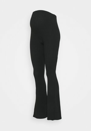 FLARE LEGGING - Trousers - black