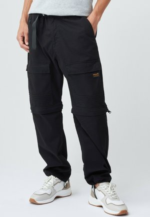 Relaxed fit jeans - schwarz_