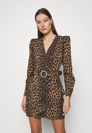 SERENACRAS DRESS - Pouzdrové šaty - black