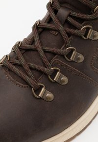 Barbour - MILLS - Lace-up ankle boots - dark brown - 5