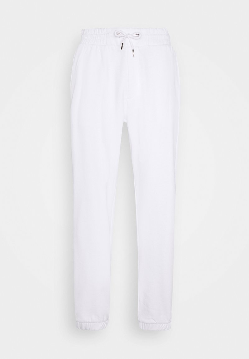 YOURTURN - LOOSE FIT JOGGERS UNISEX - Träningsbyxor - white