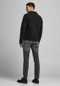 Jack & Jones - TIM  - Slim fit jeans - black denim - 2