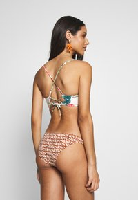 Rip Curl - TROPIC COAST PLUNGE - Bikini top - hot coral - 3