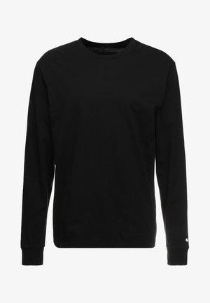 BASE - Långärmad tröja - black/white