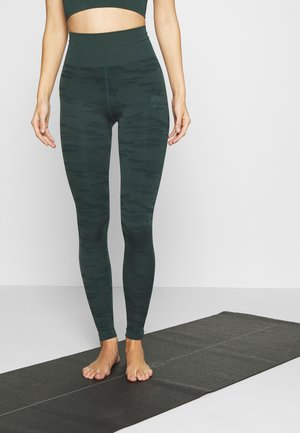 ONPJAVO CAMO CIRCULAR - Tights - darkest spruce