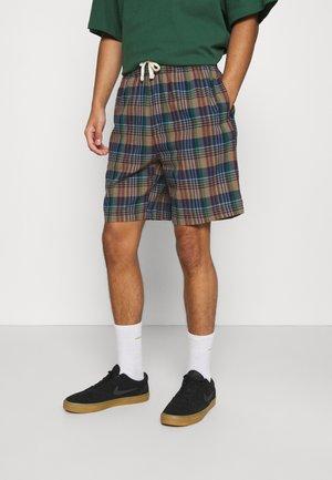 CHECK DRAWSTRING - Shorts - khaki