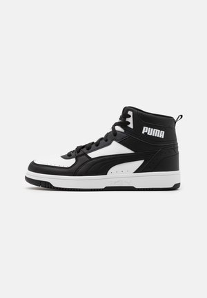 REBOUND JOY UNISEX - Korkeavartiset tennarit - black/white