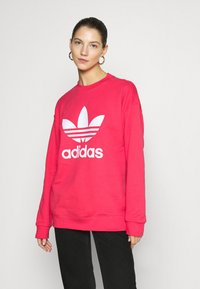 adidas Originals - CREW - Sweater - power pink/white - 0