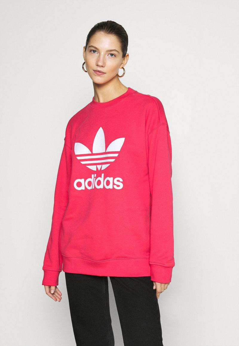 adidas Originals - CREW - Sweater - power pink/white