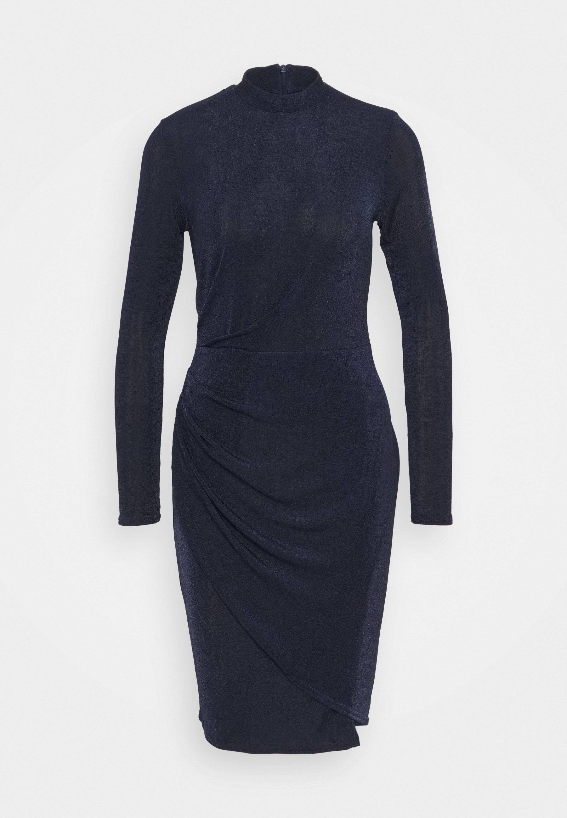 Women CLOSET HIGH NECK PENCIL DRESS - Jersey dress