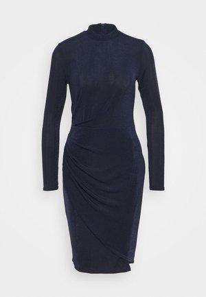 CLOSET HIGH NECK PENCIL DRESS - Jersey dress - navy