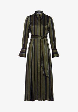 Korte jurk - dark olive
