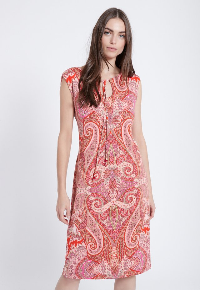 ZAFAS - Day dress - red