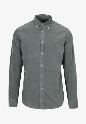 CORDUROY - Shirt - greyish blue