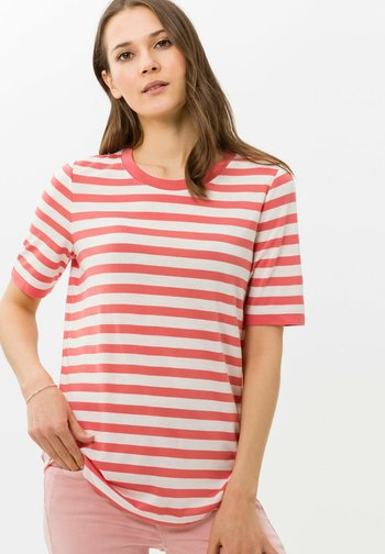 STYLE COLETTE - Print T-shirt - coral