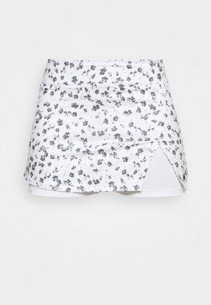 SKIRT - Jupe de sport - white/black