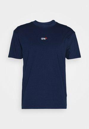 CREEK TEE - Basic T-shirt - navy