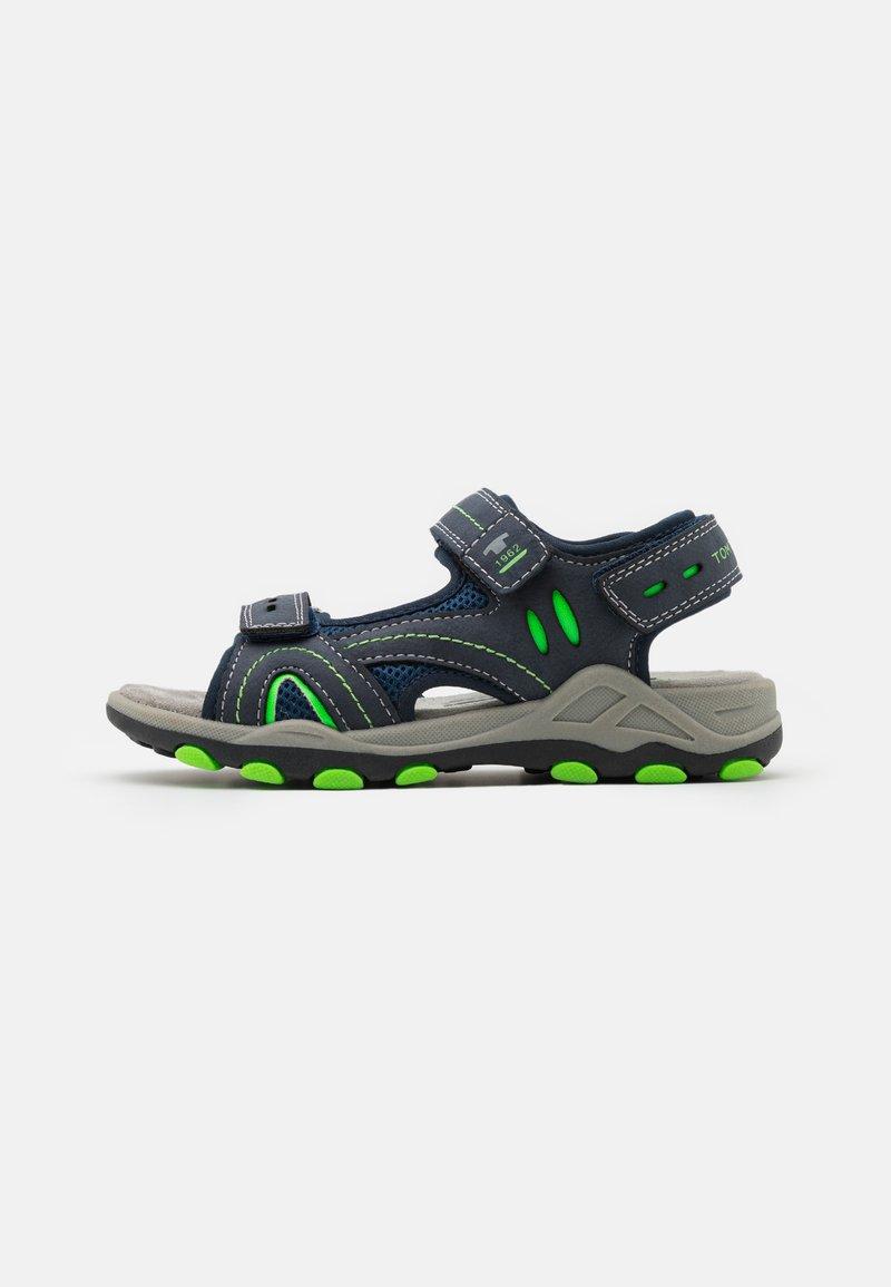 TOM TAILOR - Walking sandals - navy