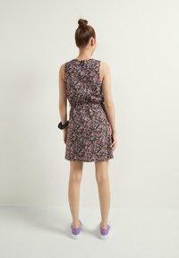 Tezenis - Day dress - nero st microflower - 1