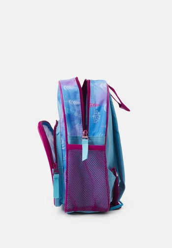 BACKPACK AND PENCIL CASE FROZEN CONNECTED BY NATURE SET  - Rucksack - blue