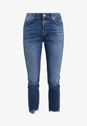 ASHER LUXE WITH DESTROYED HEM - Jean droit - vintage pacific grove