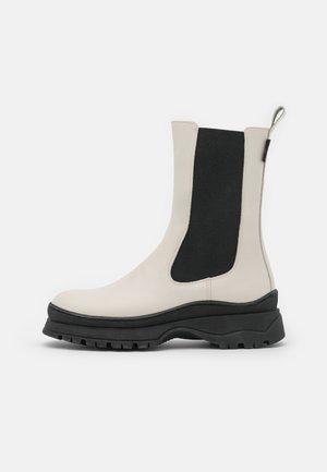 LILANNA - Platform ankle boots - cream