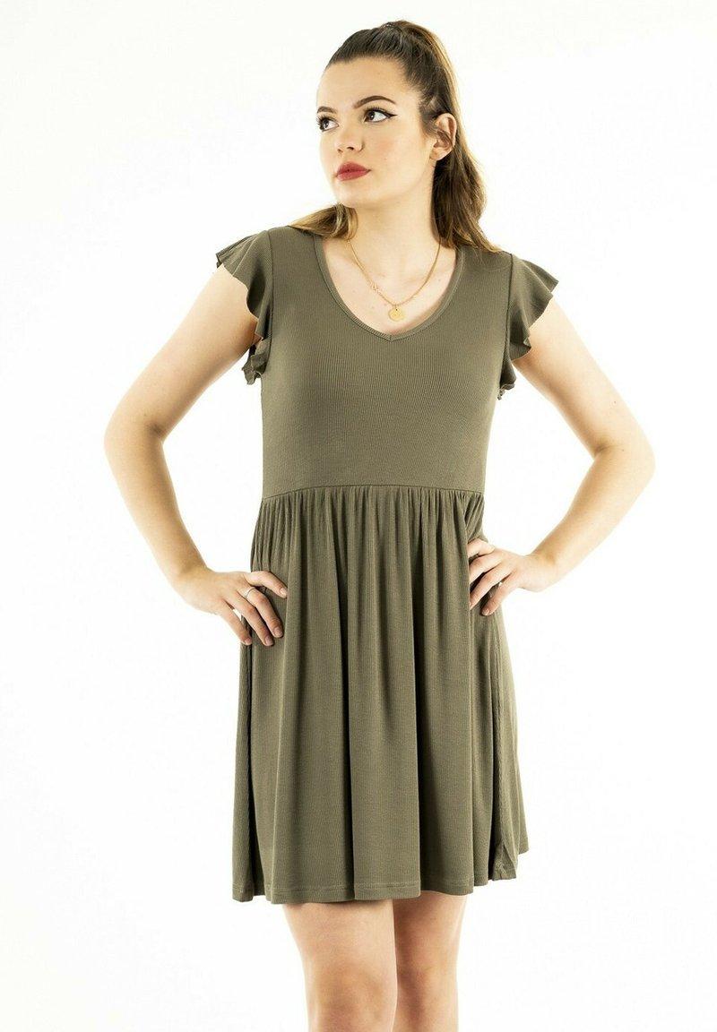 ONLY - Jersey dress - vert
