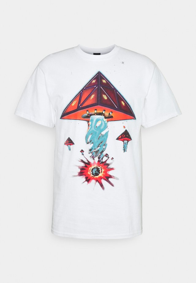 DOOMSDAY TEE - T-shirt imprimé - white