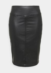 PULL ON PENCIL SKIRT - Pencil skirt - black