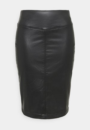 PULL ON PENCIL SKIRT - Pencil skirt - black