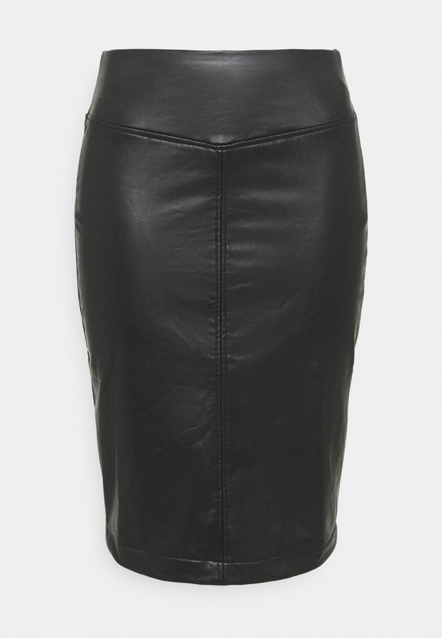 PULL ON PENCIL SKIRT - Pouzdrová sukně - black
