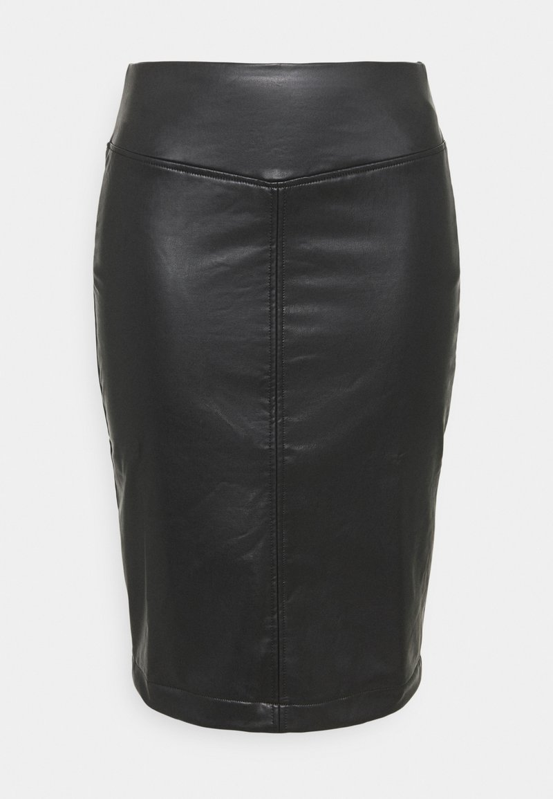 CAPSULE by Simply Be - PULL ON PENCIL SKIRT - Pencil skirt - black