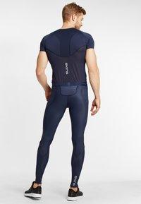 Skins - SKINS - Leggings - navy blue - 2