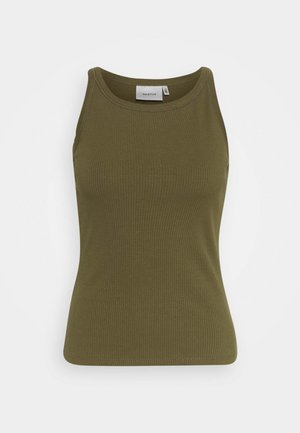 ROLLA - Top - dark olive