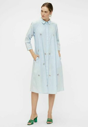 Shirt dress - light blue