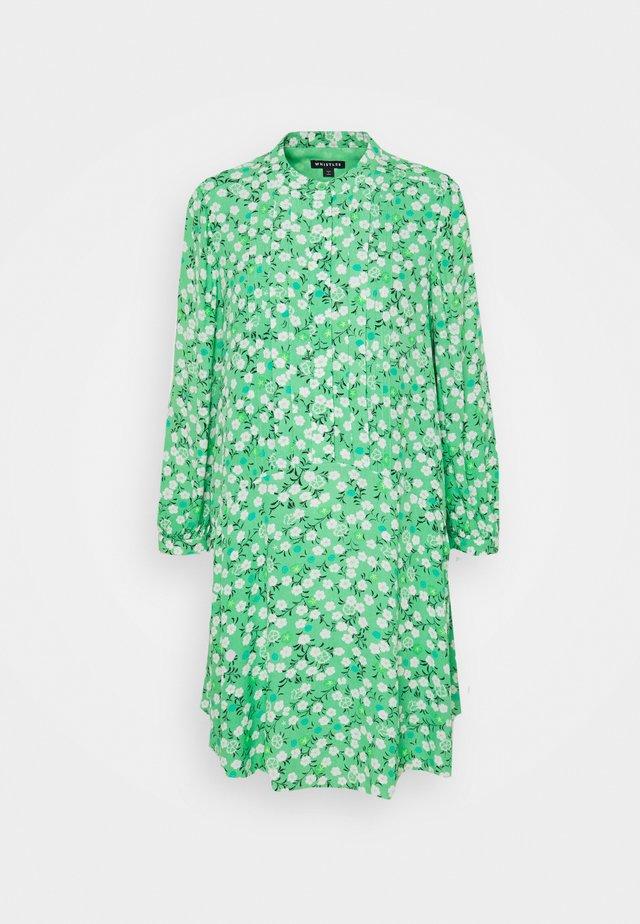 CHERRY BLOSSOM DRESS - Korte jurk - green