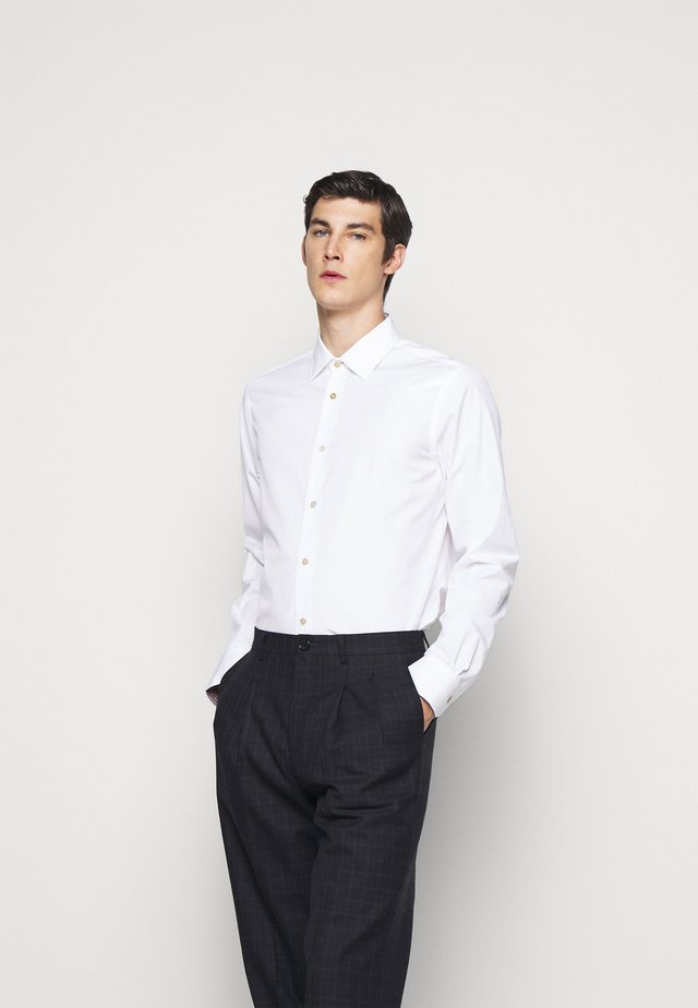 GENTS TAILORED - Zakelijk overhemd - white