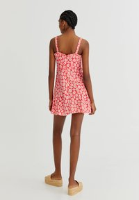 PULL&BEAR - WITH TIE DETAIL - Day dress - pink - 2