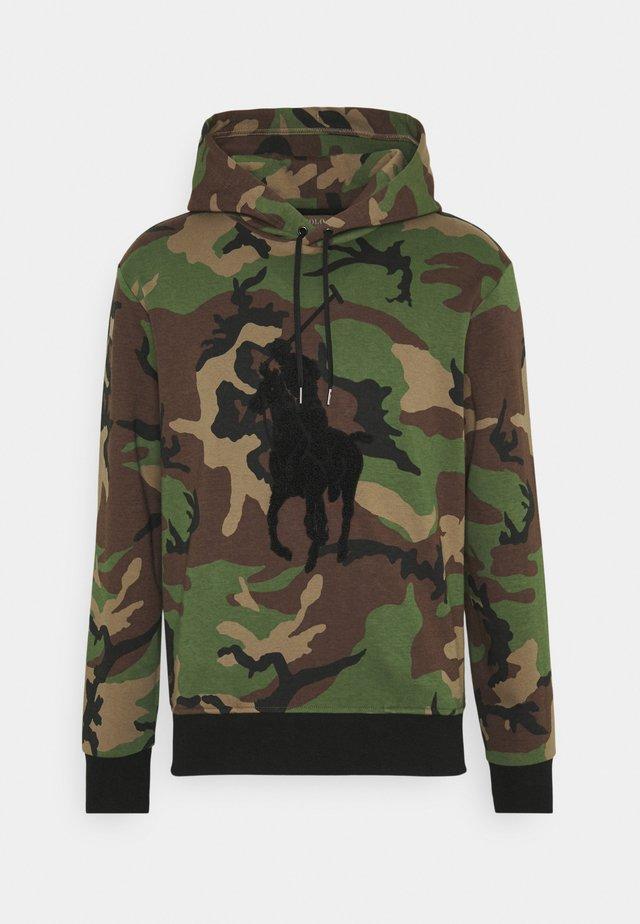 DOUBLE TECH - Sweatshirt - khaki