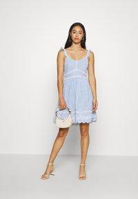 Superdry - GIA CAMI DRESS - Day dress - blue - 1