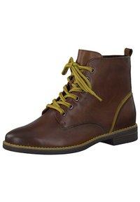 Marco Tozzi - Lace-up ankle boots - cognac ant.com 372 - 2