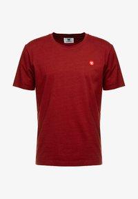 Wood Wood - ACE - Print T-shirt - dark red - 3