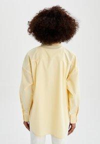 DeFacto - Button-down blouse - yellow - 2