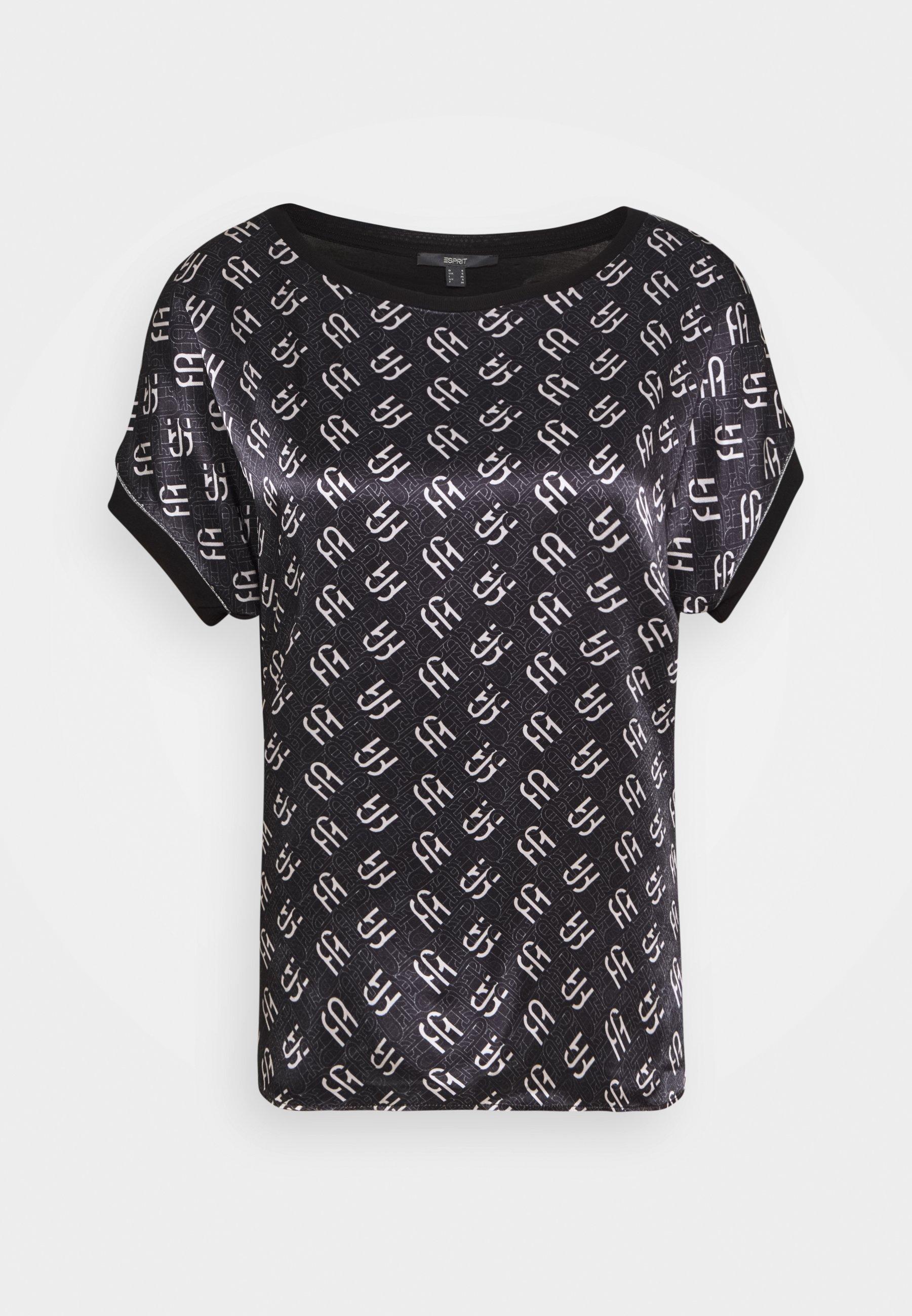 Women BLOCK TEE - Print T-shirt