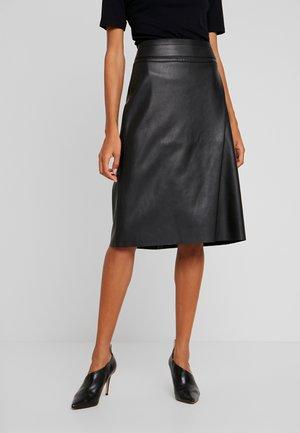 BECKIE - A-line skirt - black