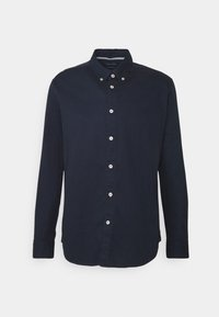 BUTTON DOWN LONG SLEEVE INSERTED - Shirt - total eclipse