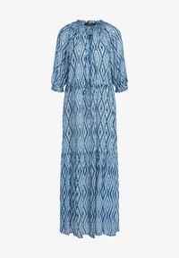 SET - Maxi dress - white blue - 6
