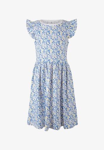 Jersey dress - royalblau