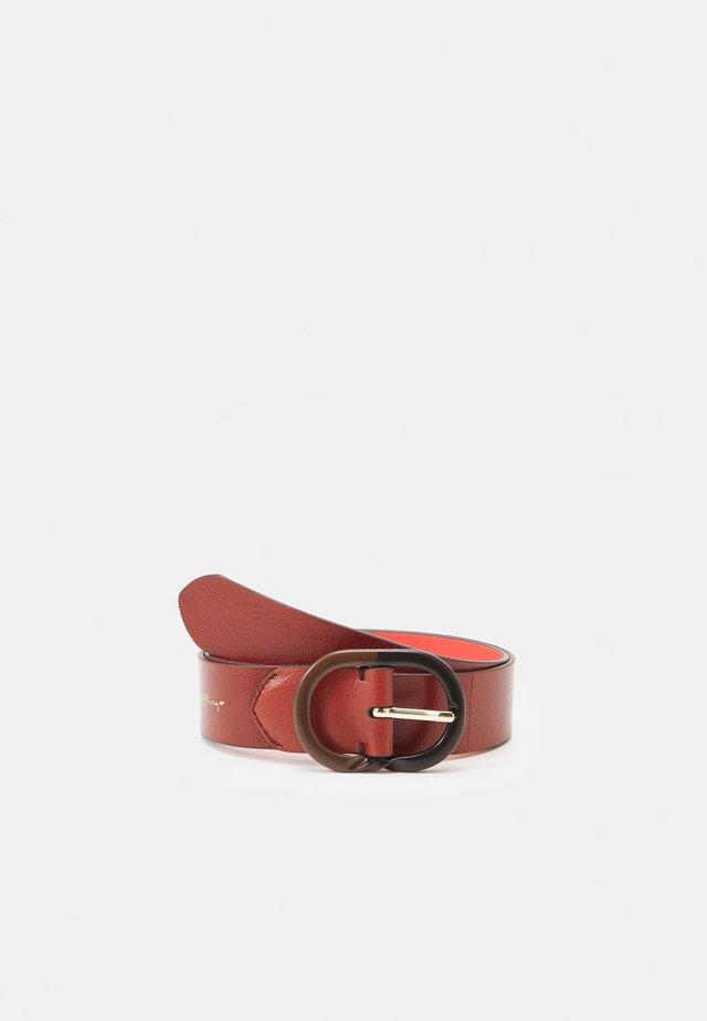 BELT TWIST - Pásek - brown