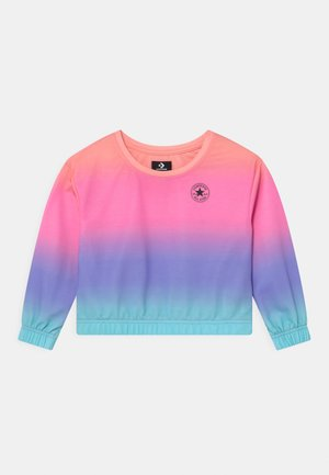 SUPER SOFT OMBRE BOXY CREW NECK - Felpa - multi-coloured